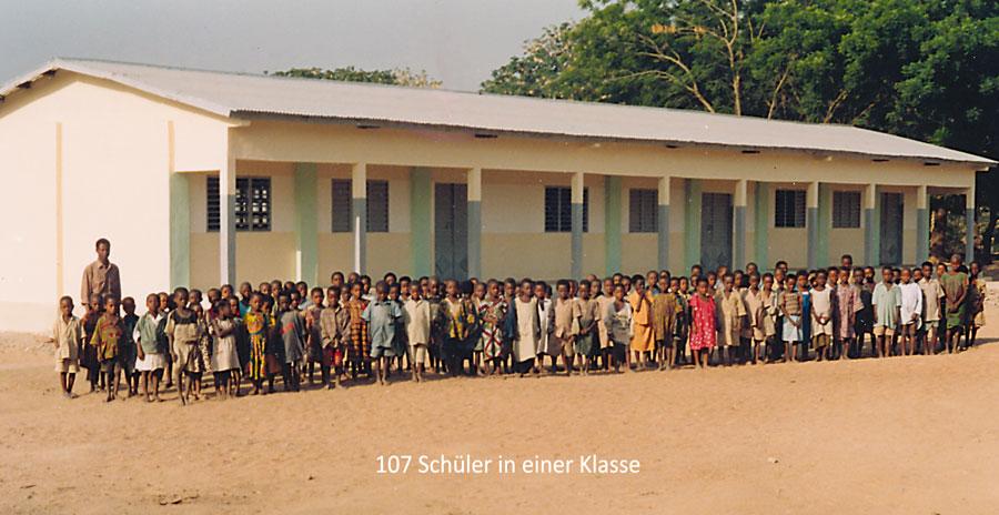 Schulbau in Gobada