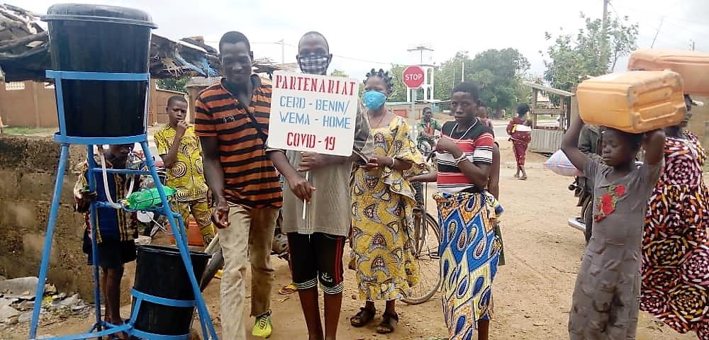 Corona-Hilfe für Benin